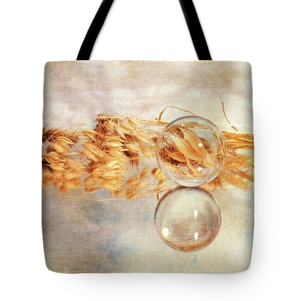 Tote Bag featuring the photograph Yesterday's Seeds by Randi Grace Nilsberg