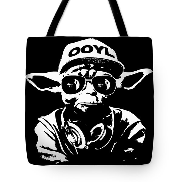 Yoda Parody - Only Once You Live Tote Bag