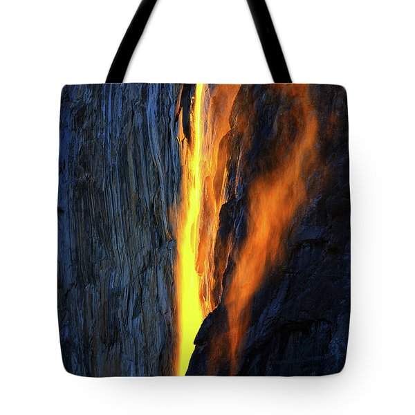Yosemite Fire And Ice Tote Bag