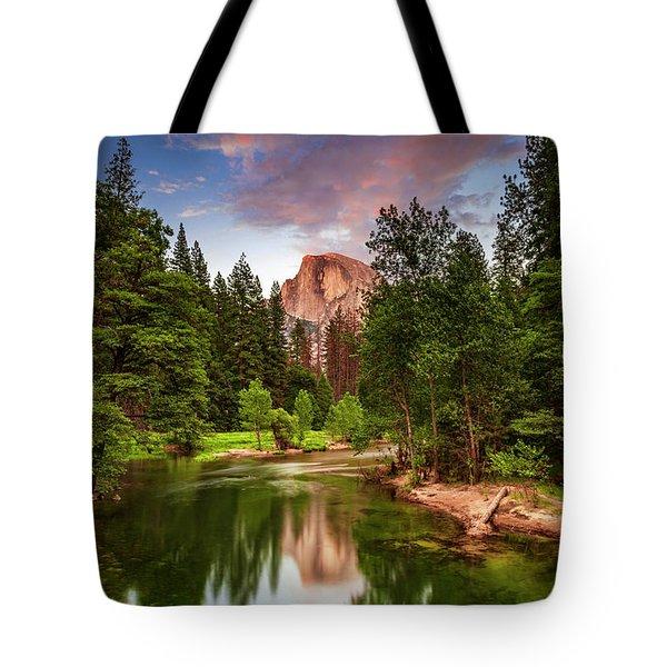 Yosemite Sunset - Single Image Tote Bag
