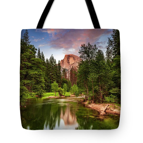 Yosemite Sunset - Single Image Tote Bag