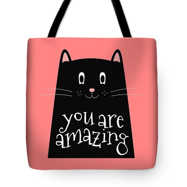 You Are Amazing - Baby Room Nursery Art Poster Print Tote Bag