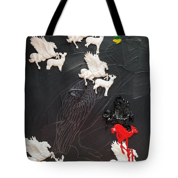 You Can Spot A Stallion A Mile Away Tote Bag