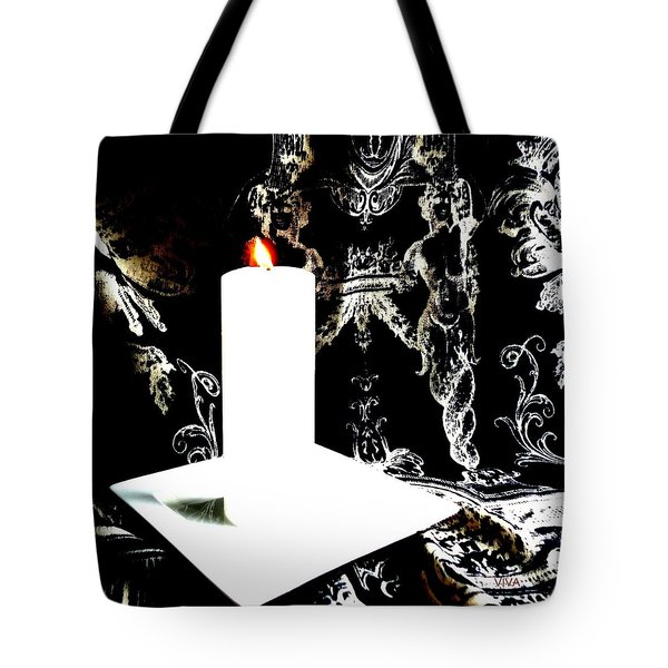 Tote Bag featuring the photograph You  Light  Up  My  Life  by VIVA Anderson