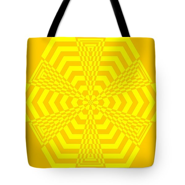 Young At Heart Yellow Tote Bag