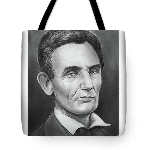 Young Lincoln Lawyer Tote Bag