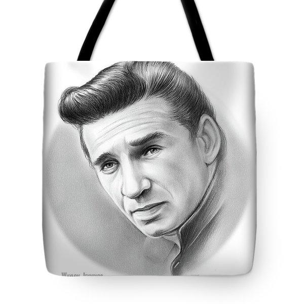 Young Waylon Tote Bag