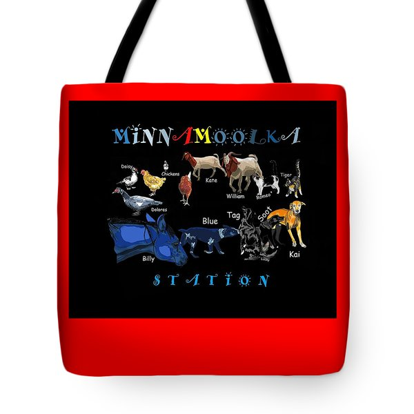 Your Friends At Minnamoolka Station Tote Bag