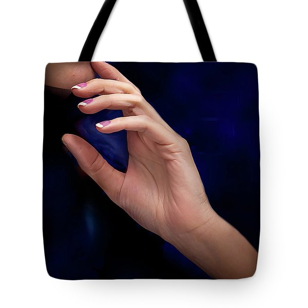 Tote Bag featuring the photograph Your Hands No. 5 by Juan Contreras