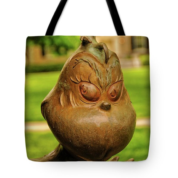 You're A Mean One Mr Grinch Tote Bag