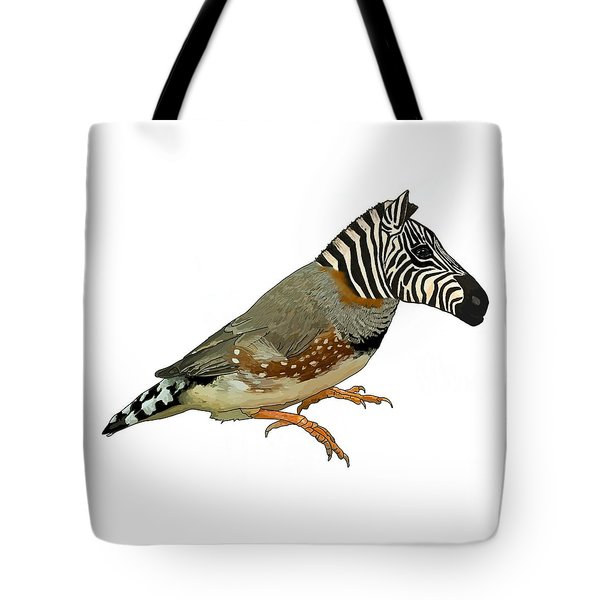 Z Is For Zebra Finch Thats Not A Zebra Finch Tote Bag