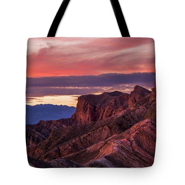 Zabriskie Point Tote Bag