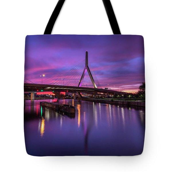Zakim Sunset Tote Bag