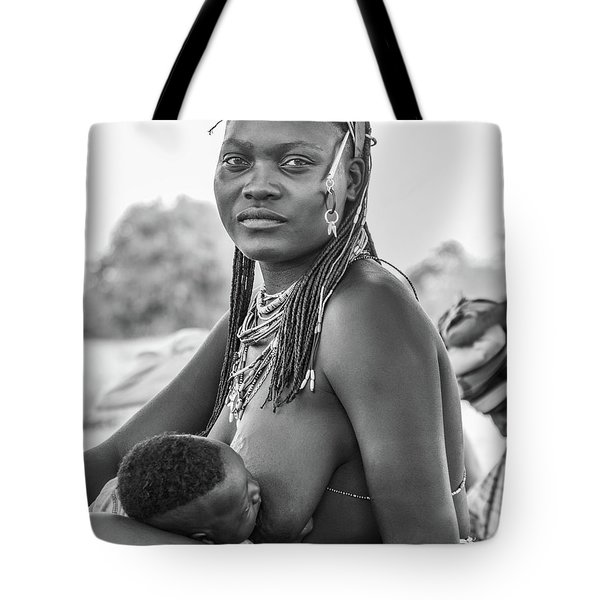 Zemba Mother And Child Tote Bag