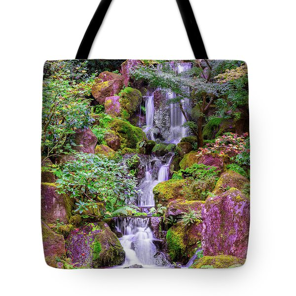 Tote Bag featuring the photograph Zen Garden by Dheeraj Mutha