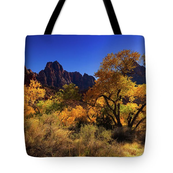 Zions Beauty Tote Bag