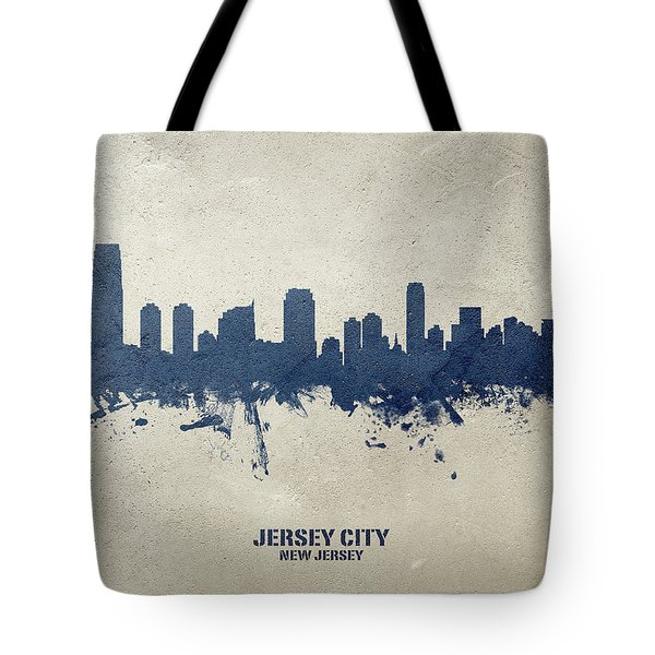 Jersey City Map Print Jersey City Gifts New Jersey Gifts Tote Bag Canvas Bag Cotton Bag Grocery Bag Shopping Bag Market Bag Beach Tote Bag
