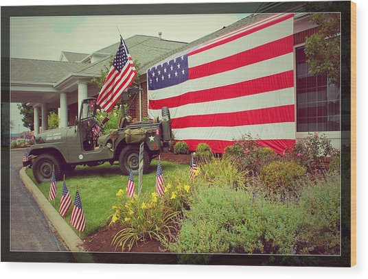 Some Gave All Wood Print