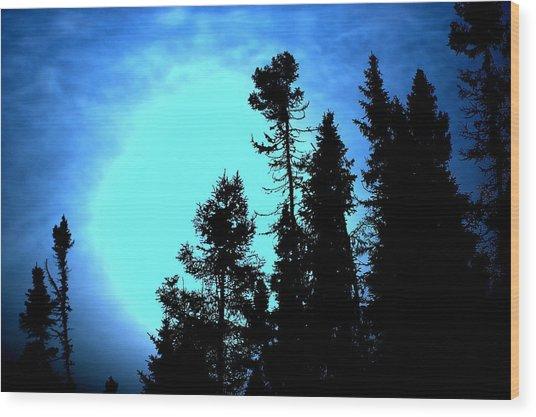-35 West Of Upsala Wood Print