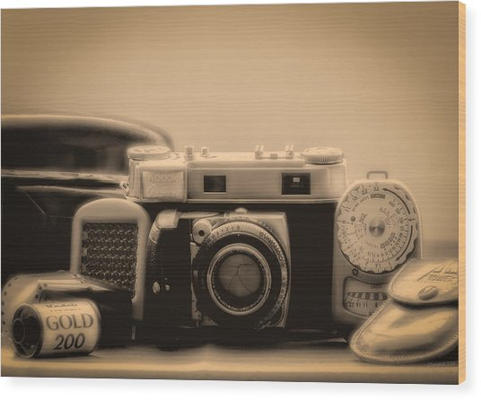 A Kodak Moment Wood Print