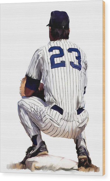 A Moment To Remember II Don Mattingly  Wood Print