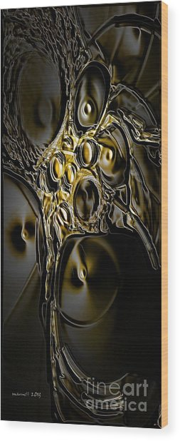 Abstraction190-03-13 Marucii Wood Print