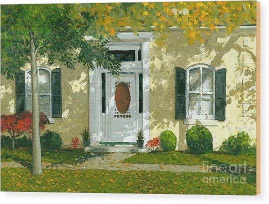 Autumn Sunlight Wood Print by Michael Swanson