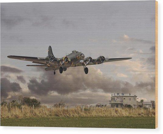 B17- 'airborne' Wood Print