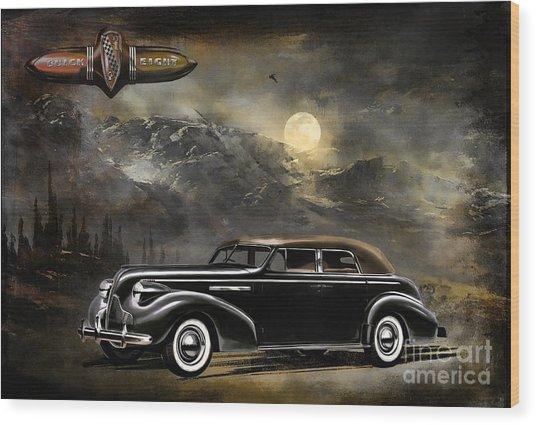 Buick 1939 Wood Print by Andrzej Szczerski