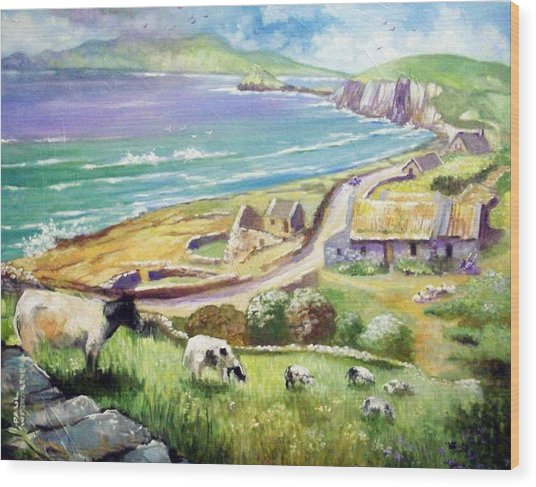 Dingle Co Kerry Ireland Wood Print