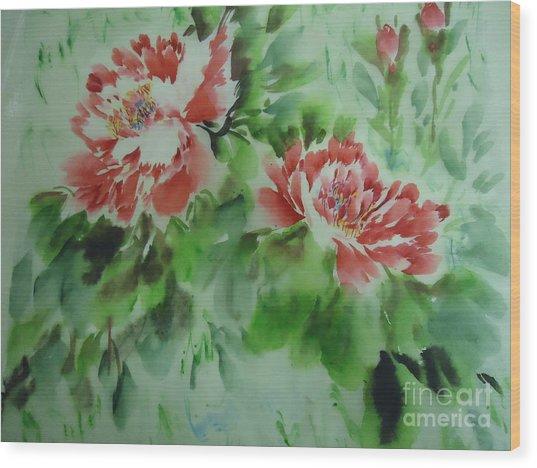 Flower0728-5 Wood Print