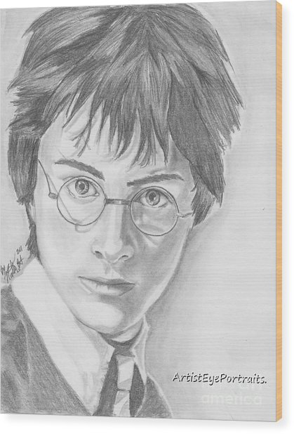 Harry Potter Wood Print by Nathaniel Bostrom