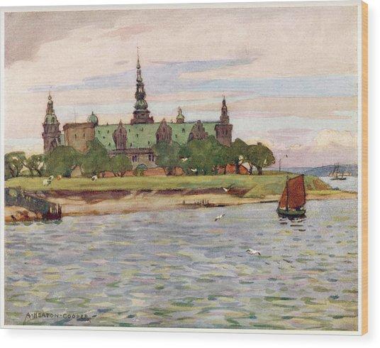 Helsingor  Kronborg Castle        Date Wood Print by Mary Evans Picture Library