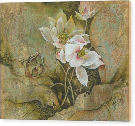 In Hiding Wood Print