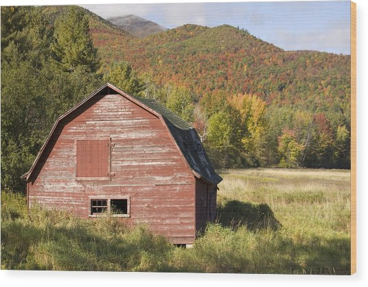 Keene Barn Wood Print