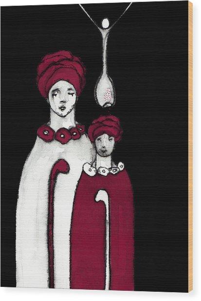Keepers No 19 Wood Print by Milliande Demetriou