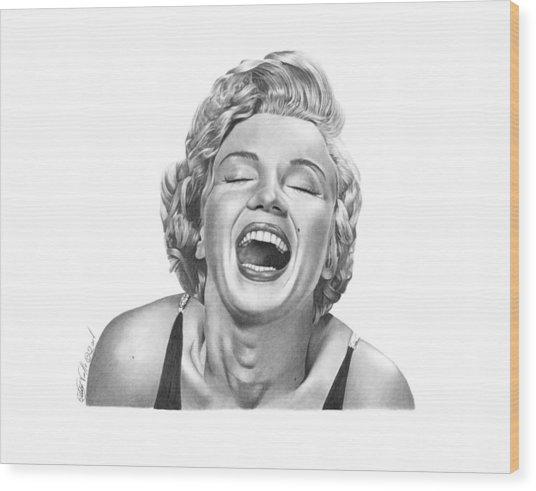 Marilyn Monroe - 034 Wood Print
