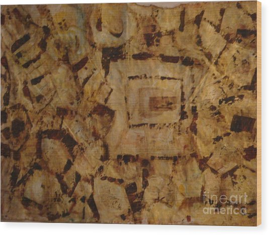 Provence II Wood Print