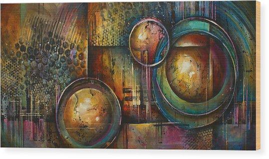 ' Remaining Elements' Wood Print