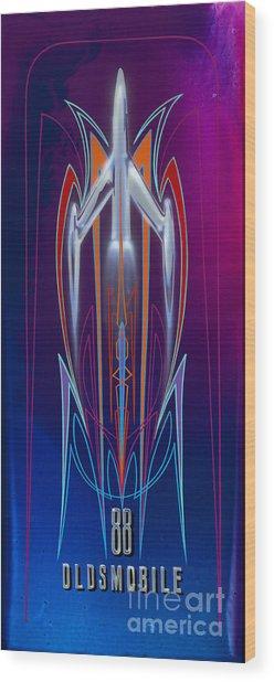 Rocket 88  Wood Print