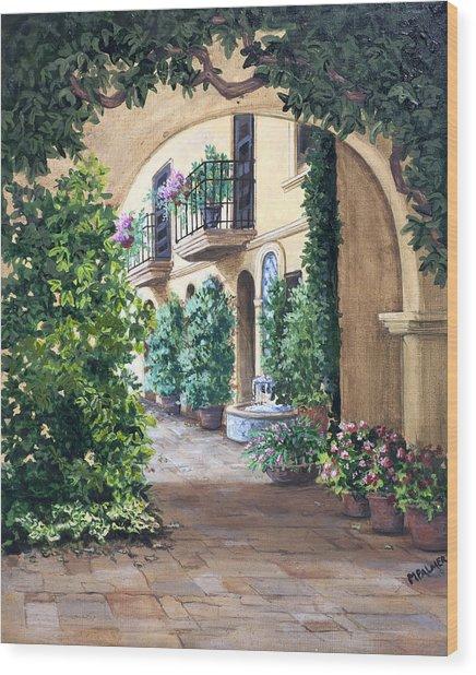 Sedona Archway Wood Print