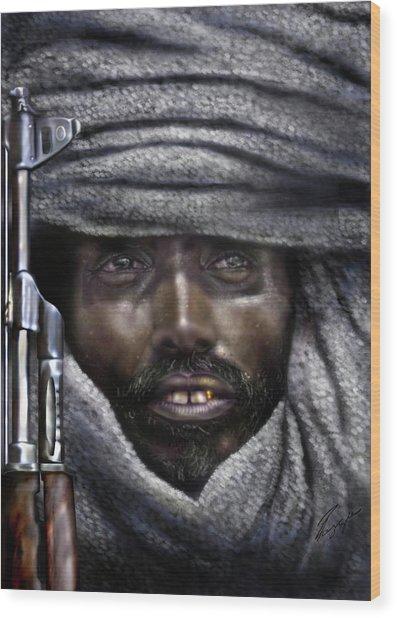 Somalia - How I Live  Wood Print