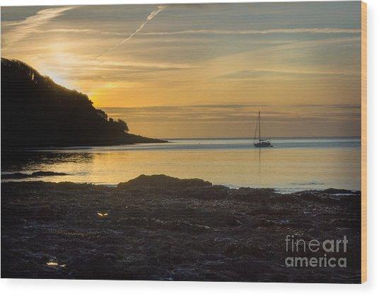 Sunrise Pendennis Point Wood Print
