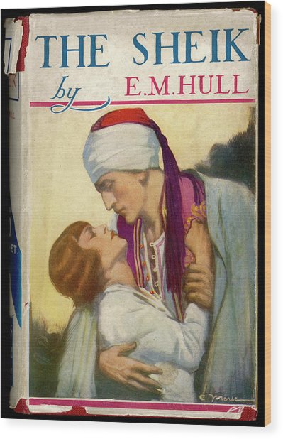 'the Sheik'  By E M Hull       Date Wood Print by Mary Evans Picture Library