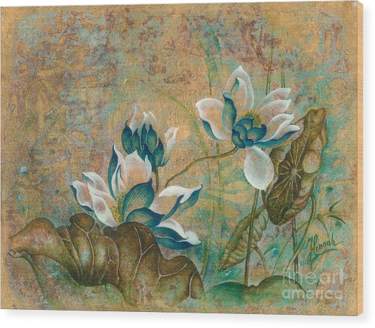 The Turquoise Incarnation Wood Print