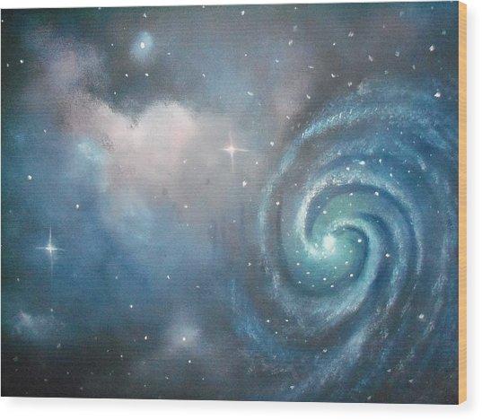 Vast Cosmos  Wood Print by Ricky Haug