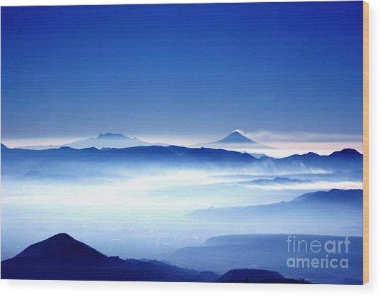 00704 Vulcanos Mexico Wood Print