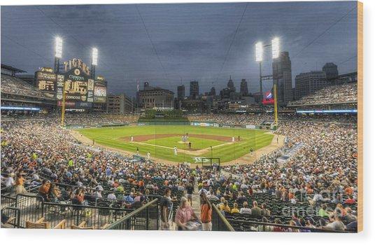 0101 Comerica Park - Detroit Michigan Wood Print