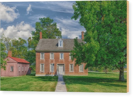 Historic Building - Kentucky Wood Print