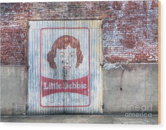 0256 Little Debbie - New Orleans Wood Print
